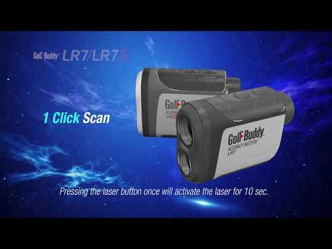 GolfBuddy Laser Rangefinder LR7 LR7S