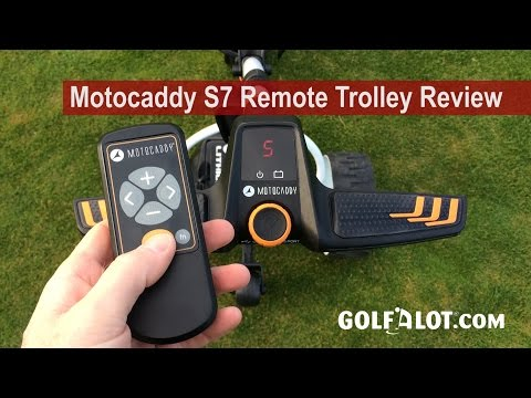 Motocaddy S7 Remote Trolley Review By Golfalot