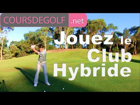 Le club Hybride Cours de golf par Renaud Poupard