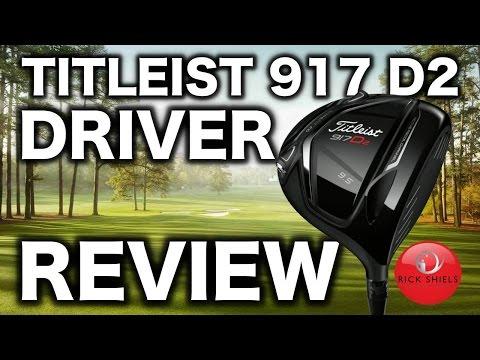 NEW TITLEIST 917 D2 DRIVER REVIEW