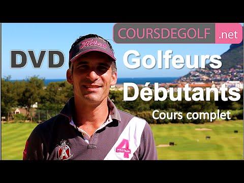 Cours de golf débutant : DVD COMPLET par Renaud Poupard