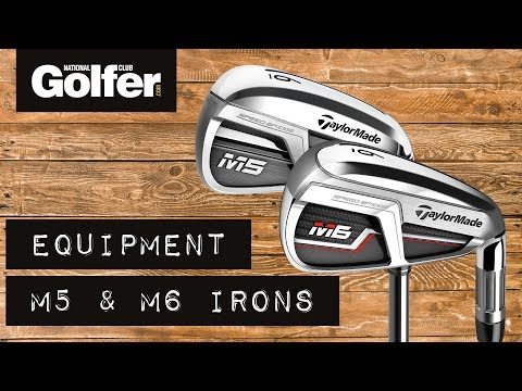 TaylorMade M5 irons vs M6 irons test
