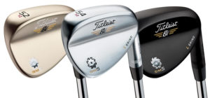 Finition Bronze, Chrome ou Nickel noir - Wedges Golf Titleist