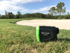 Precision Pro Golf NX7 Pro sur le parcours