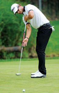 Adam Scott et son Long Putter