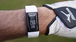 Aspect au poignet du bracelet Garmin X40