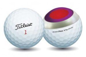 Balle golf Titleist Pro V1X 4 pièces