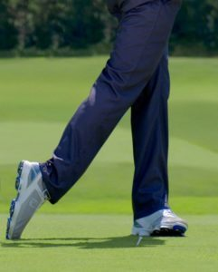 Rotation des pieds Swing Golf
