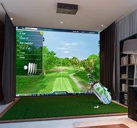 Simulateur de Golf à la maison
