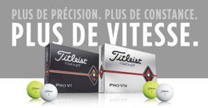 Balles de Golf Titleist Pro V1 et Pro V1x