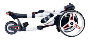 Chariot électrique Golf Motocaddy S1 replié