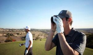 Mesure de distance avec le GolfBuddy LR7