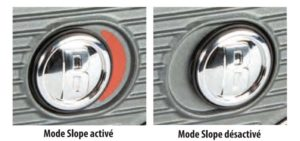 Fonction Slope Bushnell Pro XE