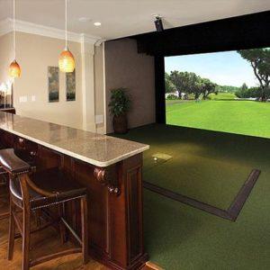Simulateur de Golf dans son salon