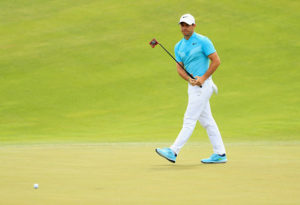 Rory McIlroy et son putter Spider Tour