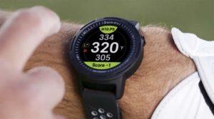 Affichage des distances sur la GolfBuddy Aim W10