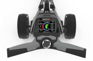 Chariot PowaKaddy FW7s GPS poignée