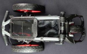 Chariot Golf 3 roues Sun Mountain Pathfinder 3 plié