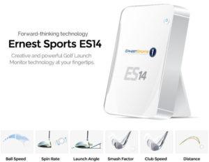 Données analysées Radar Golf Ernest Sports ES14