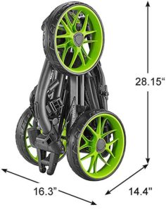 Chariot Caddytek EZ V8 Compact plié