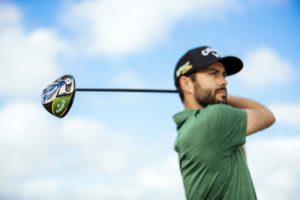 Golfeur avec Driver Callaway Epic Flash