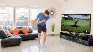 Golf dans son salon avec PhiGolf